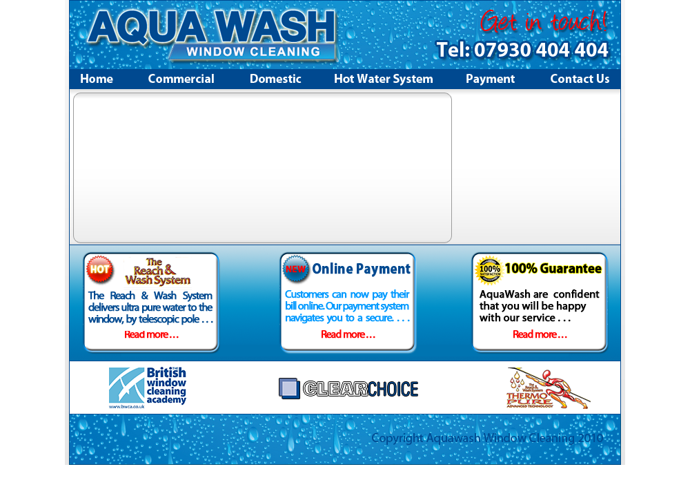 aquawash - window cleaners harrogate